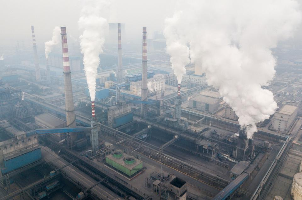 CHINA-FACTORY-ENVIRONMENT-POLLUTION
