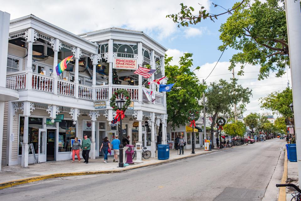 Duval Street in Key West, Florida.