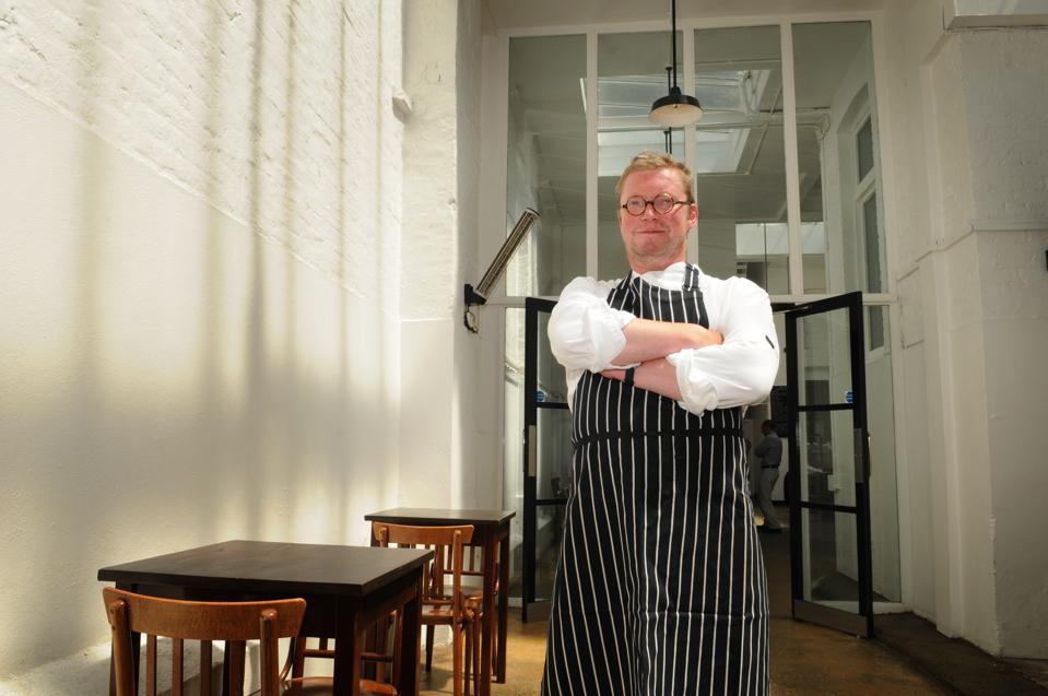Portrait of Chef Fergus Henderson