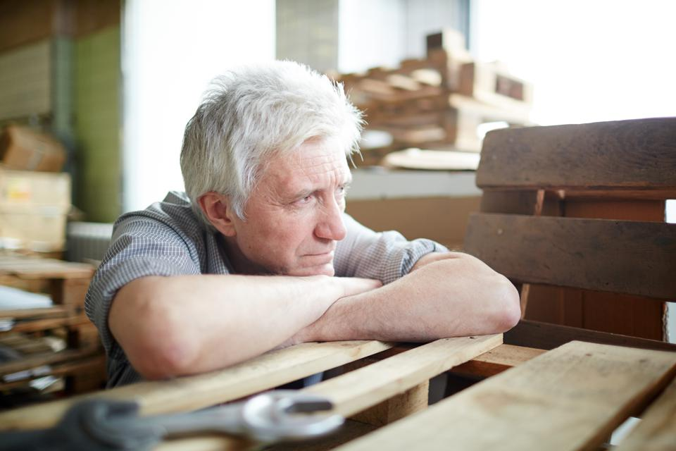 Older workers will be vulnerable in the next recession.