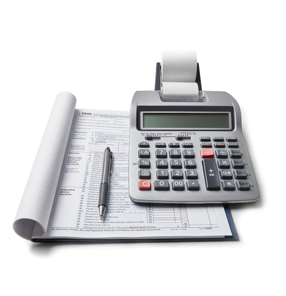 Tax return and calculator
