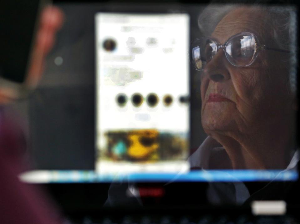 85 year old blogger Valentina Kuleshova from southern Russia