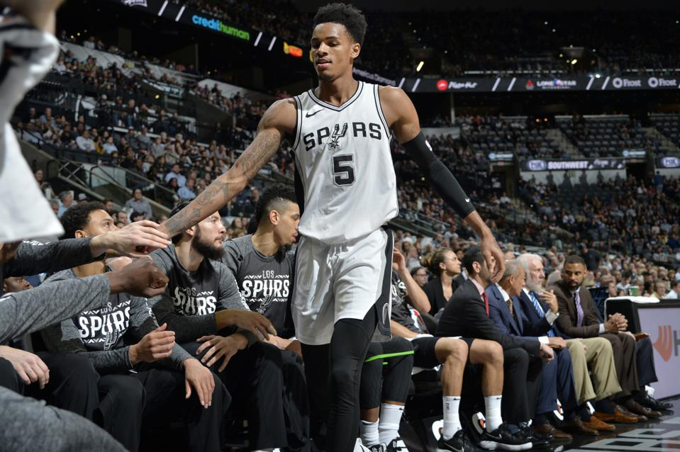 Dejounte Murray Returns To A Different Spurs Backcourt