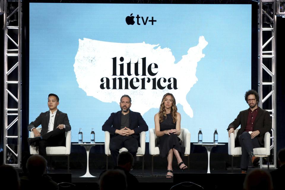 Alan Yang, Lee Eisenberg, Joshuah Bearman, Little America, interview, Apple TV+, Netflix