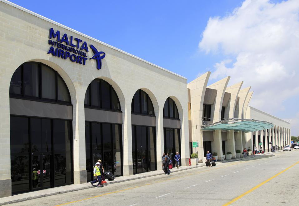 International airport terminal building, Valletta, Malta