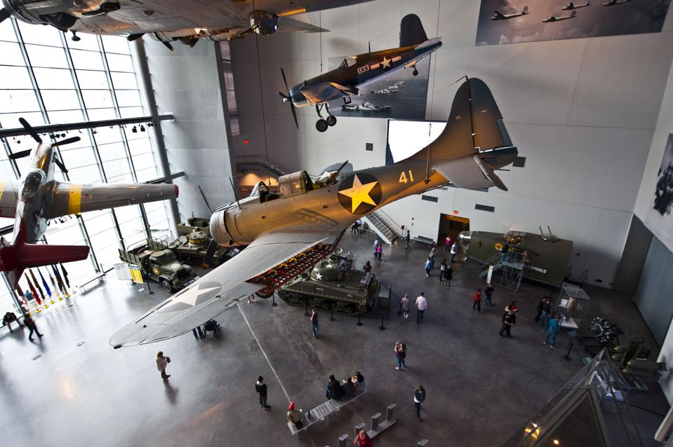 New Orleans, National World War II Museum, Boeing Center, Douglas SBD Dauntless Dive Bomber