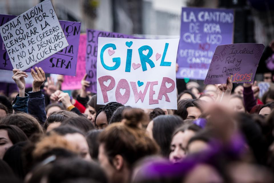 International Women's Day 2018 in Madrid