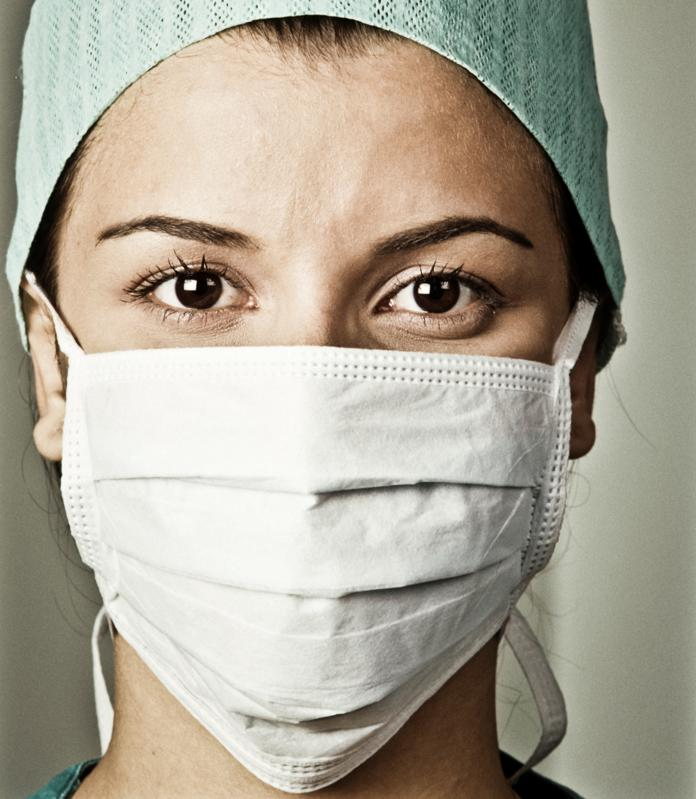 Face mask shortages threaten the spread of the coronavirus among healthcare workers
