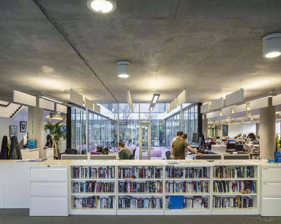 Gas Networks Ireland, Dublin, Ireland. Architect: Denis Byrne Architects, 2015.