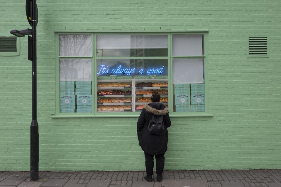 Shoreditch Doughnut Shop Window