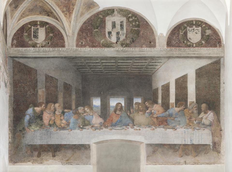 The Last Supper, 1495-1497, by Leonardo da Vinci