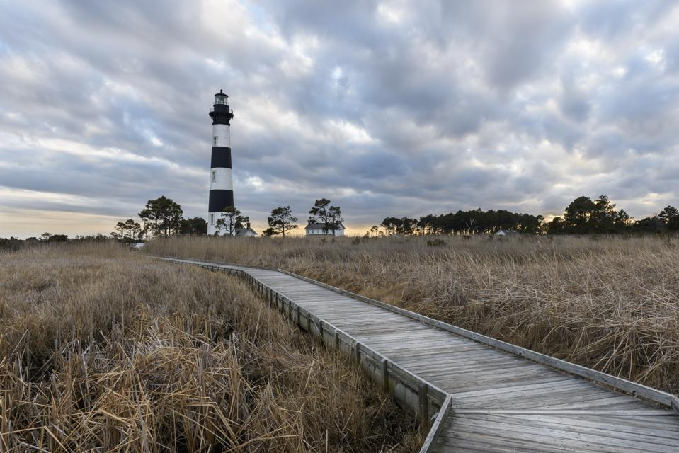 Outer Banks Lighthouse summer travel