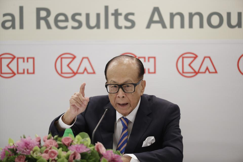 Hong Kong Billionaire Li Ka-shing Announces Retirement