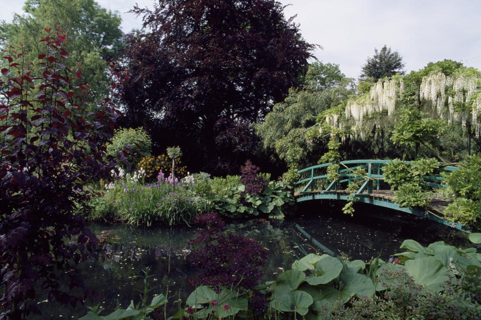 Garden of the house of Claude Monet, Giverny
