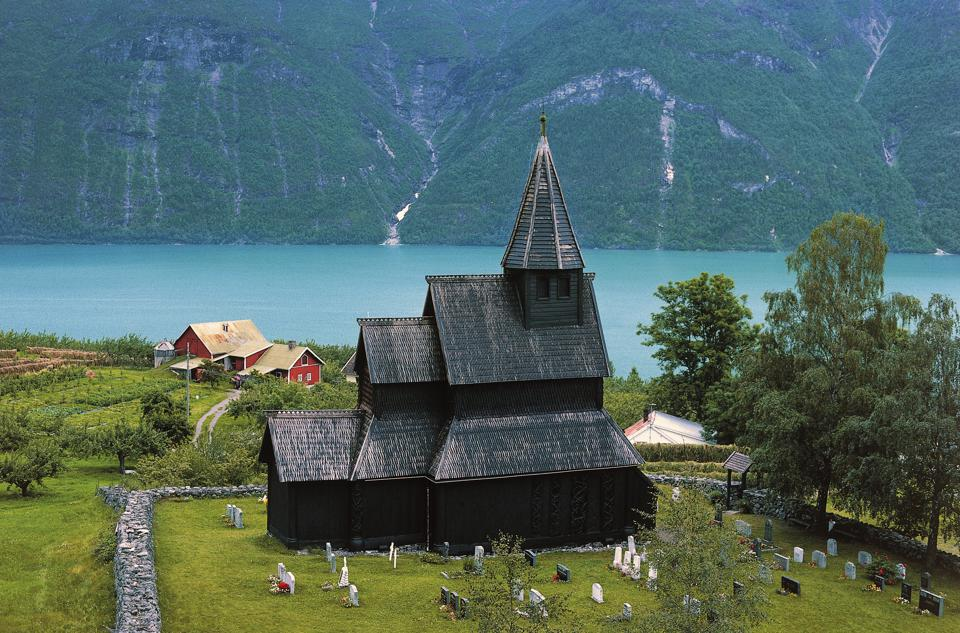 Urnes Stave Church is Norway's oldest traditional wooden church. It is a UNESCO World Heritage Site.