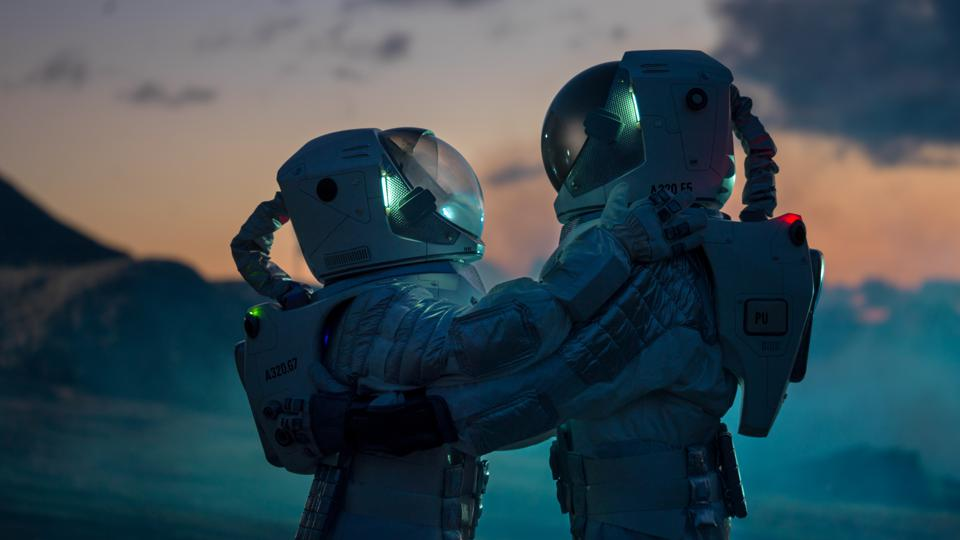 In the era of generations-long, one-way interstellar space travel will humans be able to communicate with each other?