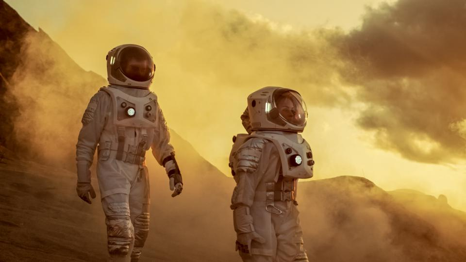 About 110 people would be needed to colonize Mars successfully, says a new report.