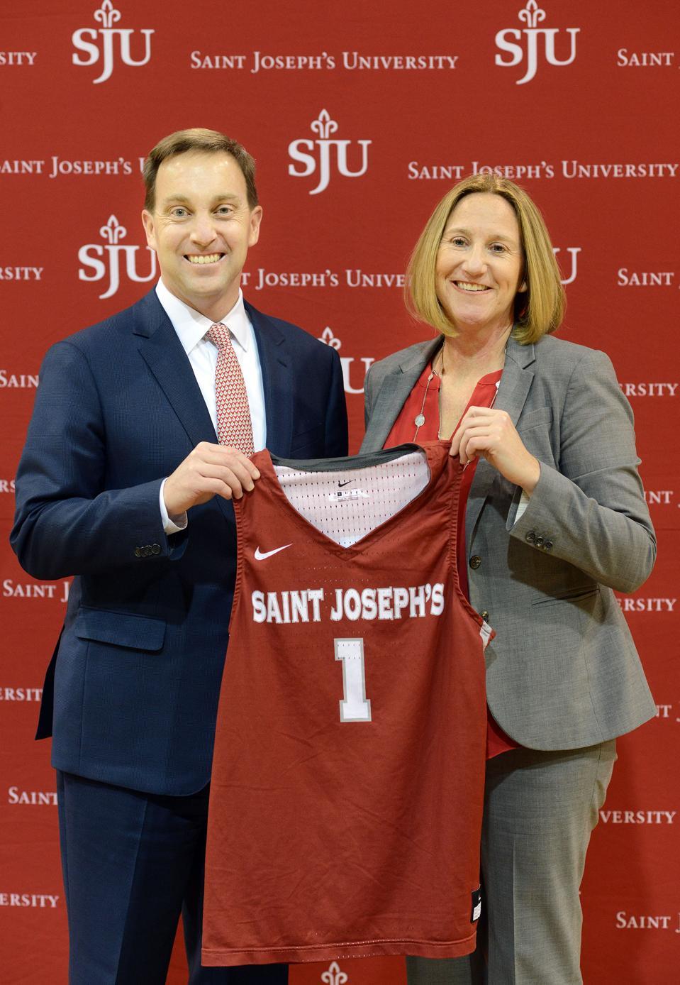 Saint Joseph's University Names Jill Bodensteiner New Athletics Director