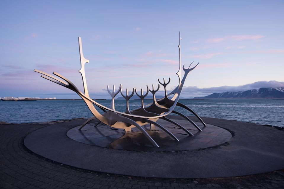 Syn Voyager sculpture in Iceland