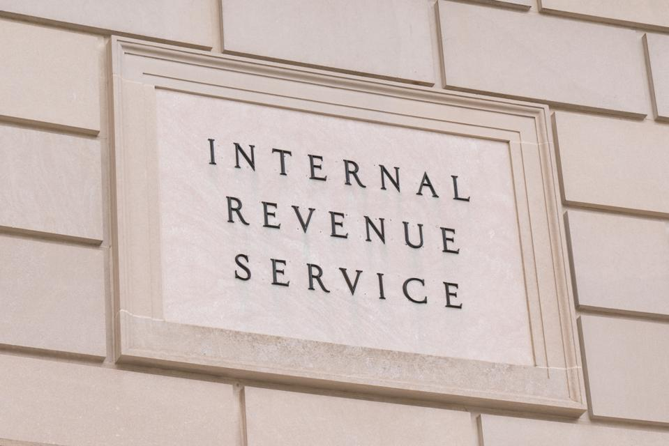 Internal Revenue Serice Sign
