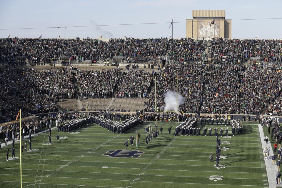 Navy Notre Dame Football