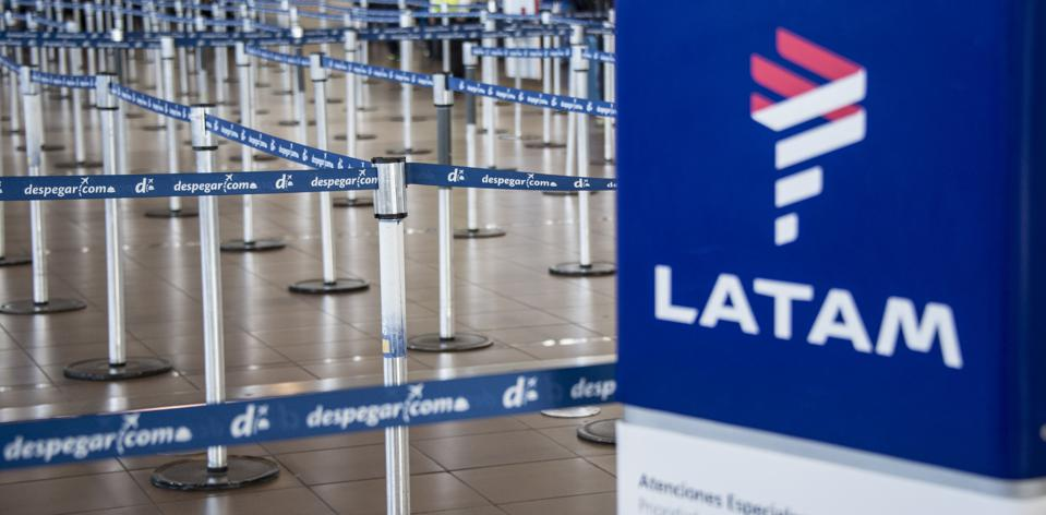 File photo of LATAM check-in