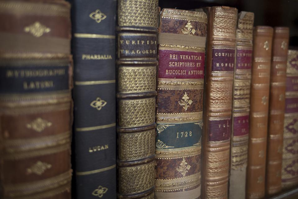 Classical Books In The British Museum