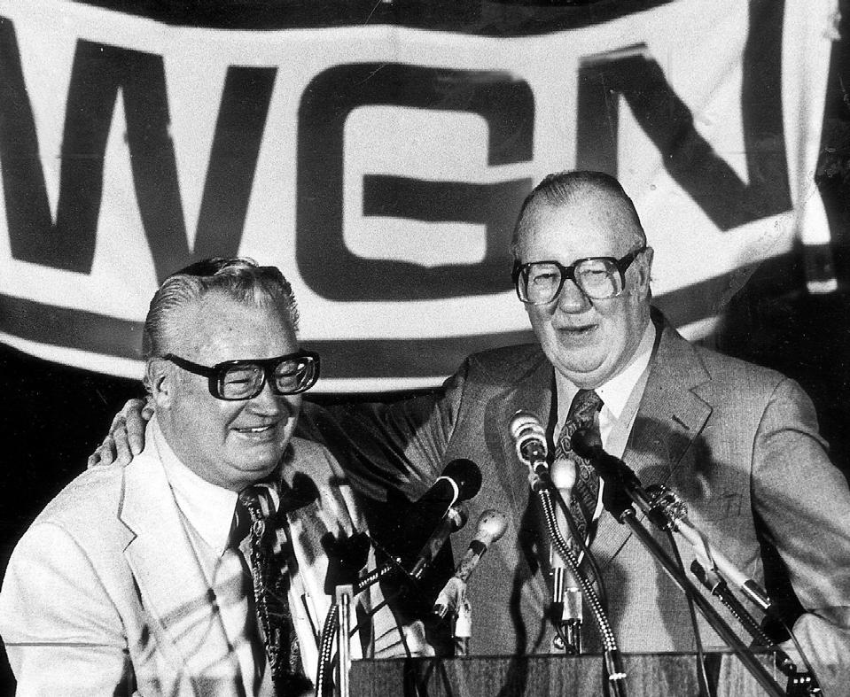 WGN celebrates 70 years of televising Cubs baseball