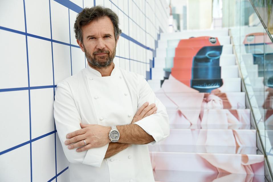Carlo Cracco in Milan, Italy.  (Photo by Tullio M. Puglia/Getty Images for Lavazza)