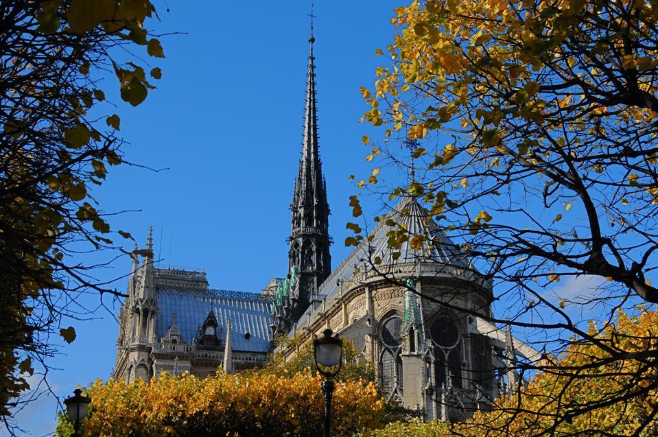 FRANCE, PARIS, LA CATHEDRALE NOTRE DAME