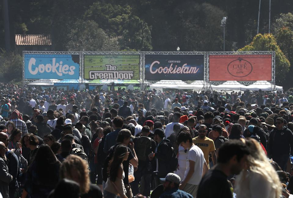 Annual Marijuana 'Holiday' 4/20 Celebrated In San Francisco
