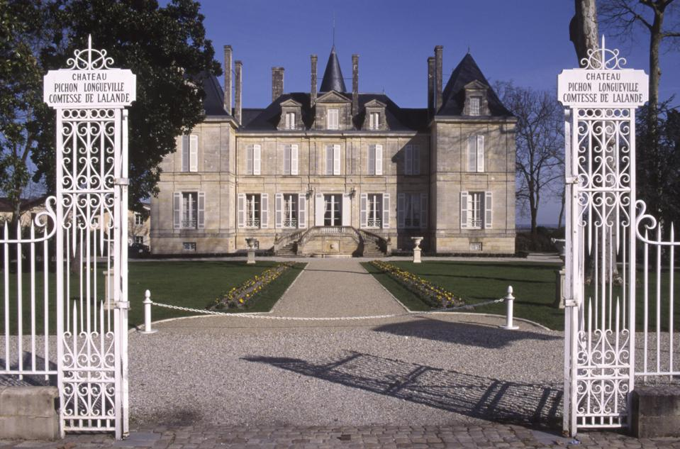 Château Pichon-Longueville Comtesse de Lalande in Bordeaux