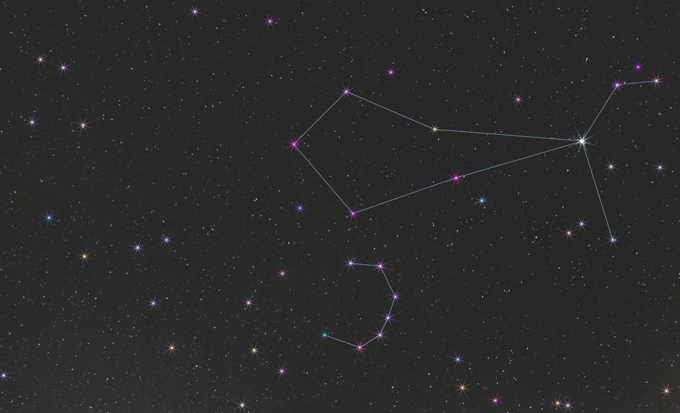 To find the constellation of Boötes look for its brightest star, Arcturus, or use the nearby (and much smaller) constellation of Corona Borealis.
