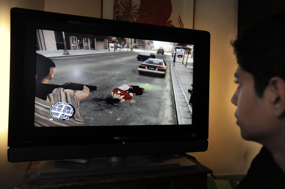 Grand Theft Auto IV (GTA), the controversial video game.