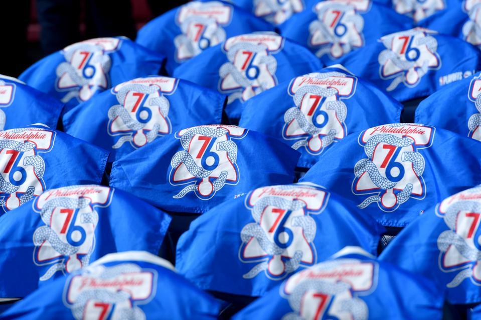 best website 93b57 a94b4 Philadelphia 76ers Go Deep Into Their Uniform Catalog For ...