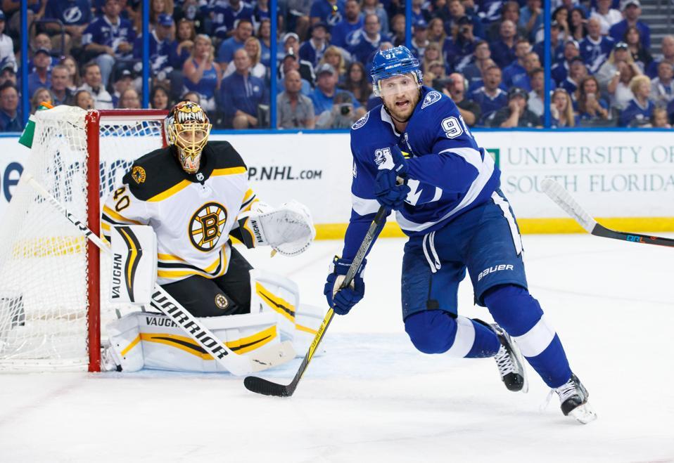 Boston Bruins v Tampa Bay Lightning - Game One″n