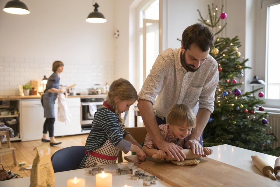 Cooking can make people of all ages more open to trying new tastes, so enlist the whole gang in holiday dessert prep