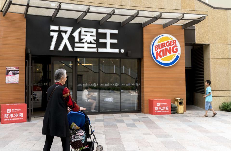 Burger King china