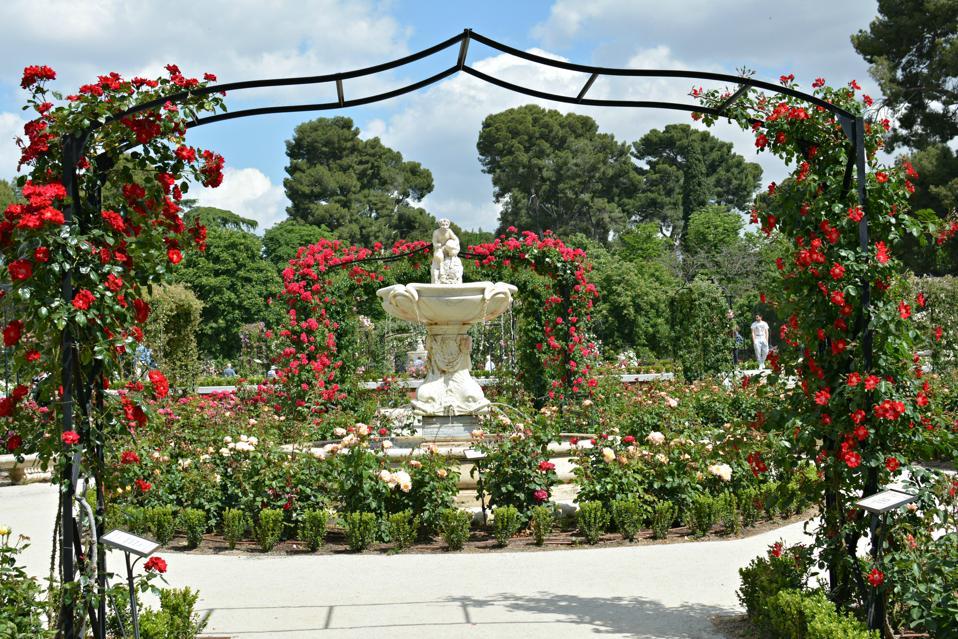 La Rosaleda (Jardines de El Retiro), Madrid