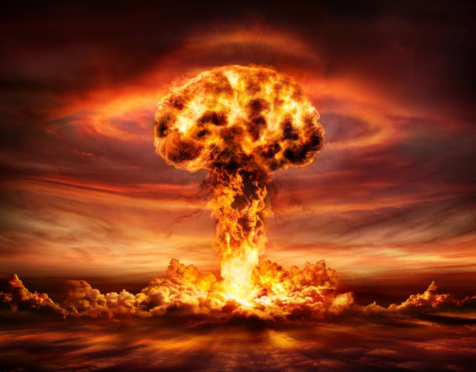 Nuclear Bomb Explosion - Mushroom Cloud
