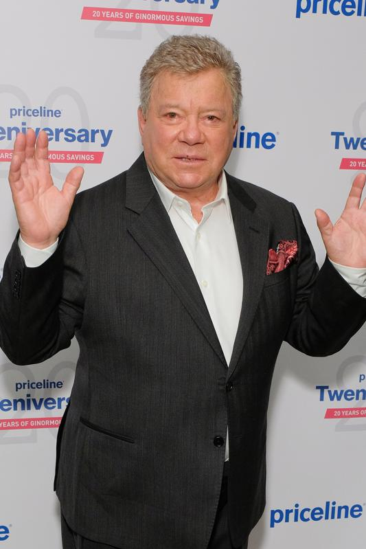William Shatner Celebrates Priceline.com's 20th Anniversary