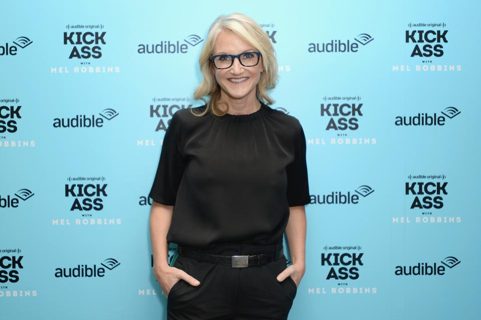 Audible Celebrates The Release Of Audible Original ″Kick Ass With Mel Robbins″ At Sixty Soho Hotel