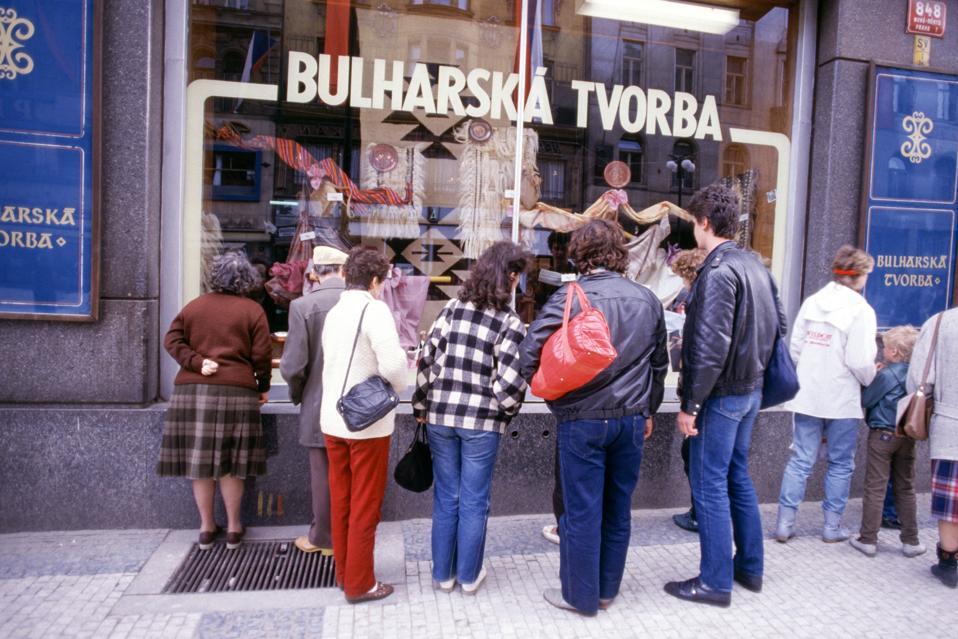 Visite de Mikhaïl Gorbatchev à Prague