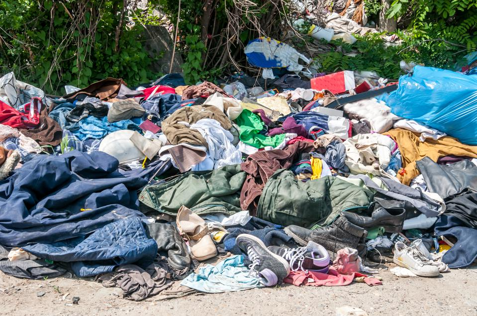 On average, Americans throw away 81 pounds of clothing every year.