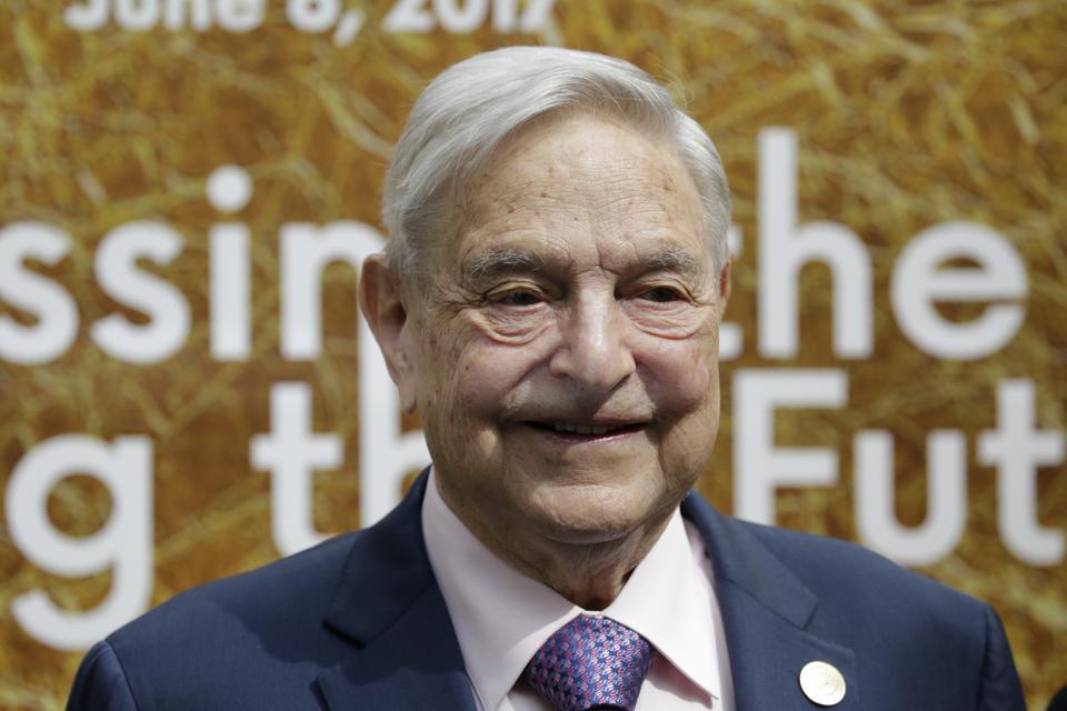 Billionaire George Soros on 08.06.2017