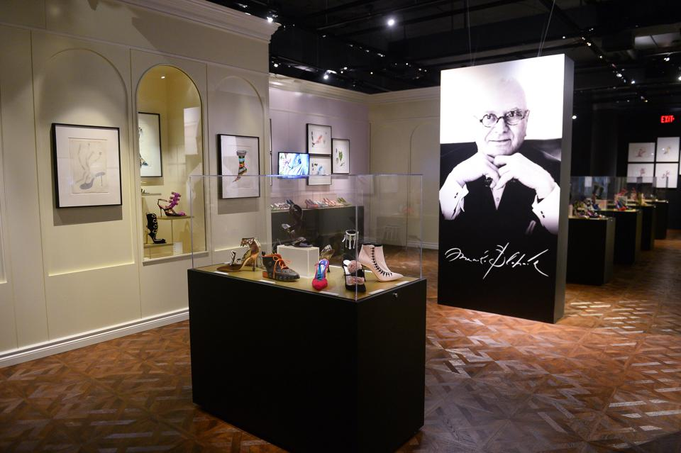 Gala Reception For Manolo Blahnik: The Art Of Shoes At Bata Shoe Museum in Toronto