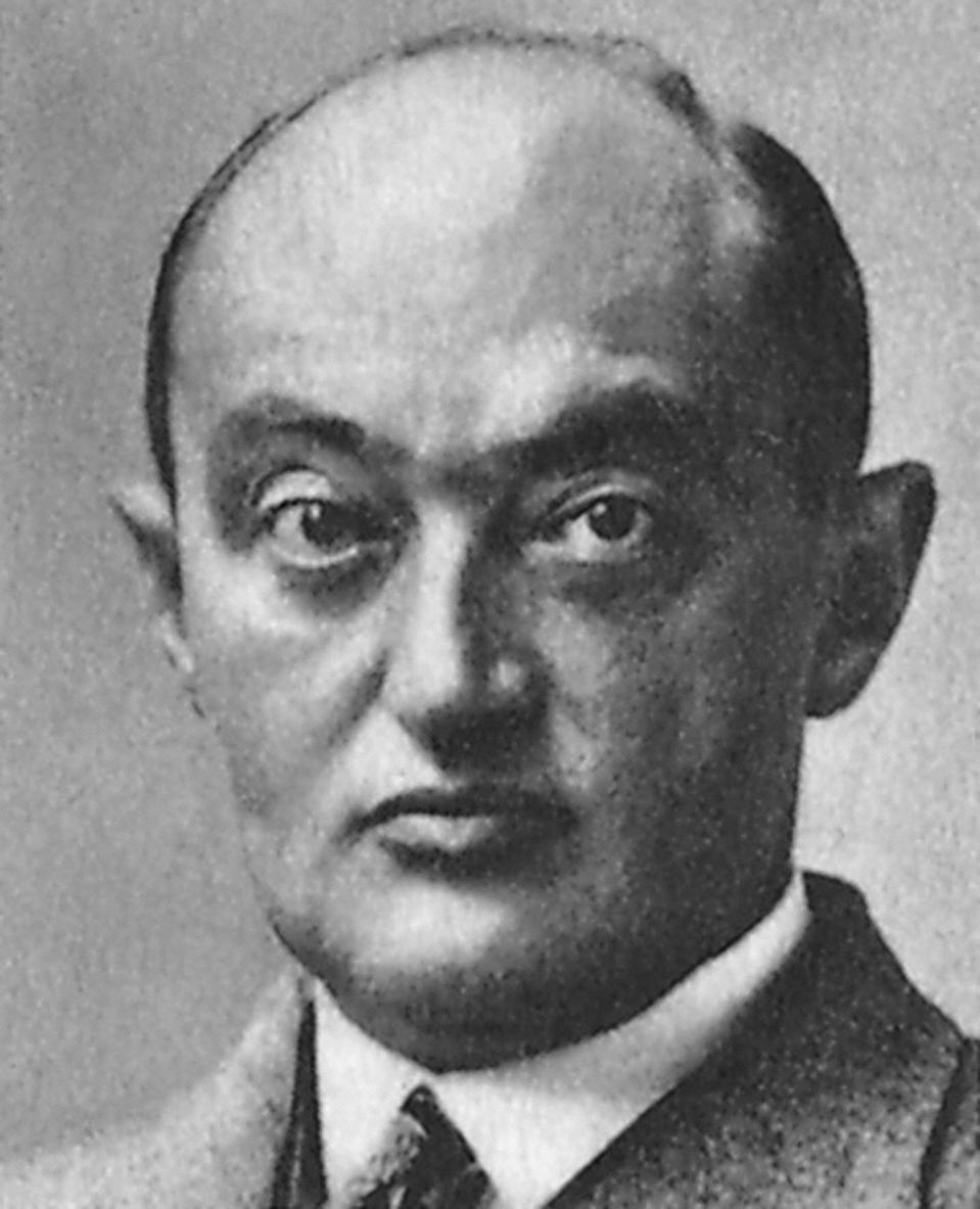 Joseph Alois Schumpeter.