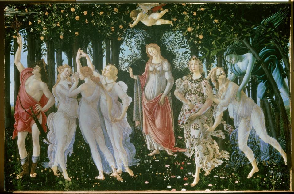Sandro Botticelli , Primavera.