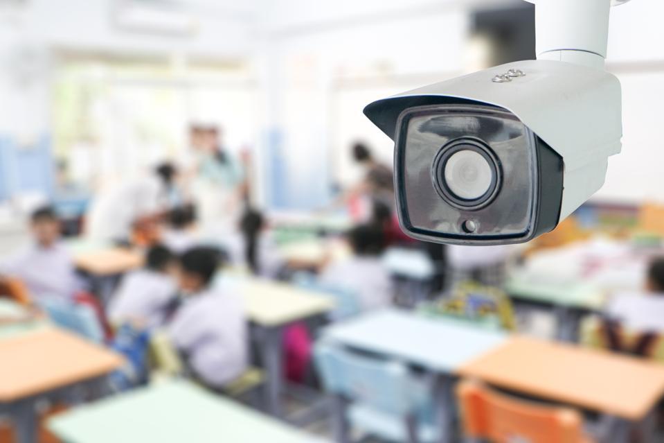 Surveillance technology is spreading across schools.