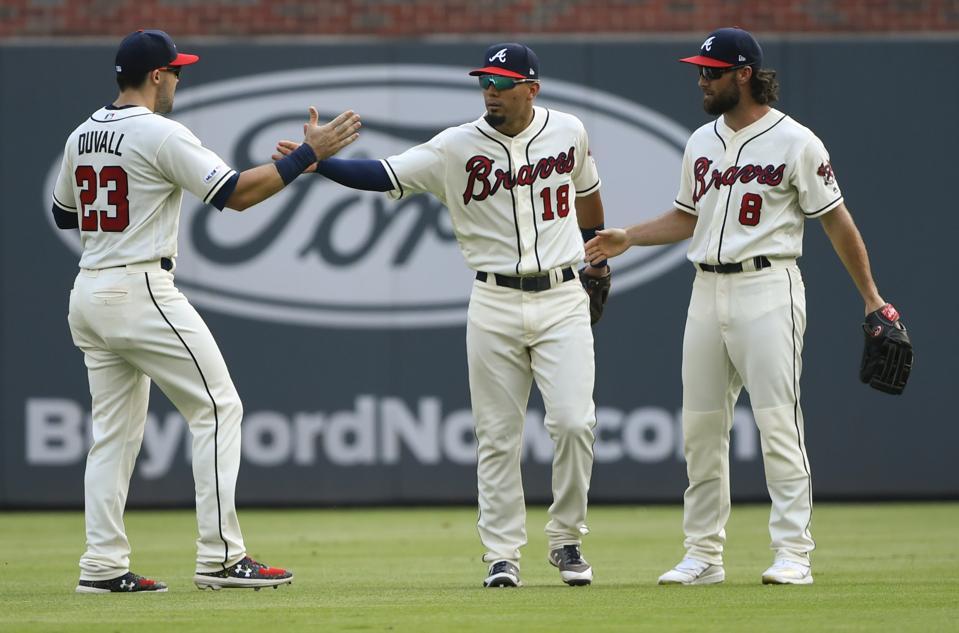 Dodgers Braves Baseball